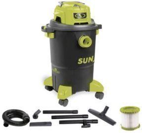 Sun Joe SWD5000 5 Gal. Industrial Motor Wet/Dry Vacuum