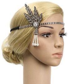1920s Flapper Halloween Party Headwear