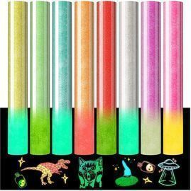Glow in The Dark Color Changing Heat Transfer Bundle