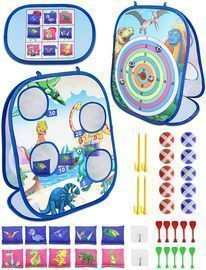 Akaber 4-in-1 Outdoor Game Set For Kids