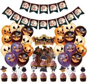 Halloween Party Decorations Kit