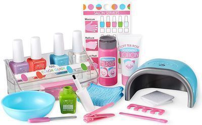 Melissa & Doug 22PC Love Your Look Pretend Nail Care Play Set