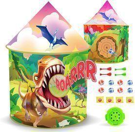 Dinosaur Kids Tent with Roar Button