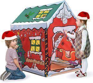 Christmas Painting Playhouse Tent