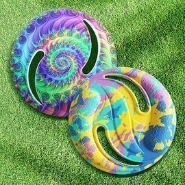 2 Pack Tie Dye Frisbee Discs Set