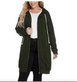 Women's Hooded Long Coat