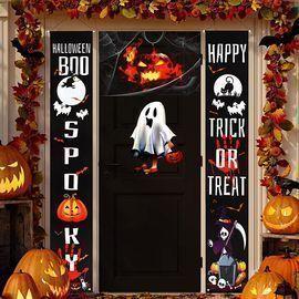 NEWENMO Halloween Door Decorations