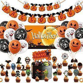 Aushenke 49pc. Halloween Party Decoration Set