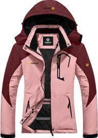 Women's Mountain Waterproof Ski Snow Jacket - Winter, Windproof, Rain Jacket
