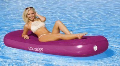 AIRHEAD Sun Comfort Cool Suede Pool Lounge
