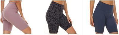 Women's Biker Shorts - High Waist Compression Athletic Shorts
