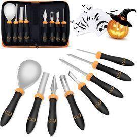 8PC Pumpkin Carving Kit