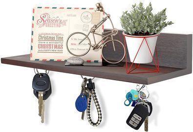 Magnetic Key holder with Floating Shelf