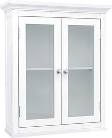 Elegant Home Fashions Madison Wall-Mounted Glass-Door Medicine Cabinet
