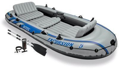 Open-Box Intex Excursion 5 Inflatable Boat Set