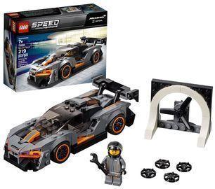 219-Piece LEGO Speed Champions McLaren Senna Building Kit