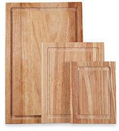 Farberware 3pc Wood Cutting Board Set