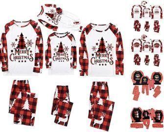 Christmas Matching Family Pajamas Sets