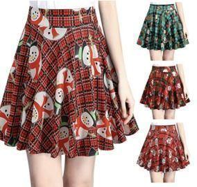 Christmas Plaid Skirts