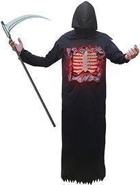 Lukat Grim Reaper Halloween Costume For Men