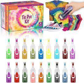 18 Colors Tie Dye Kit