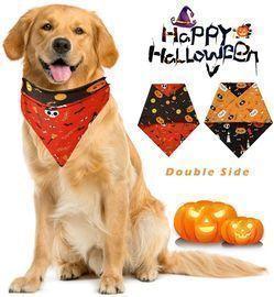 Adjustable Halloween Pet Bandana