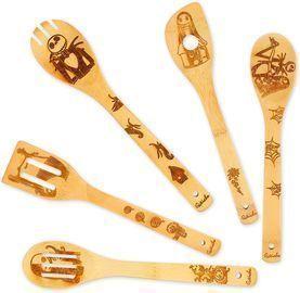 Halloween Wooden Spoons/Kitchen Utensils Set