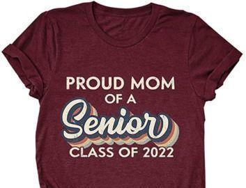 Proud MOM Class of 2021 T-Shirt