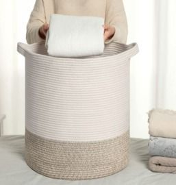 Large Storage Baskets -17.7(D) x 19.7(H) Inches