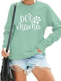 Dog Mom Pullover Sweatshirt