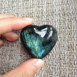Natural Labradorite Crystal Quartz Stone
