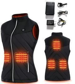 Heated Vest for Women  with Battery Pack