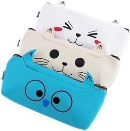 School/Office Stationery Pouch - 3 Pack