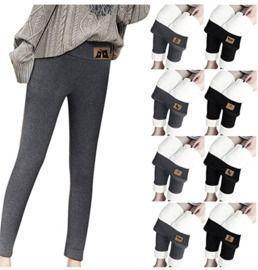 Elastic Plush Pants