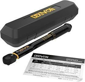 LEXIVON 1/4 Drive Torque Wrench (20~200 in-lb/2.26~22.6 Nm)