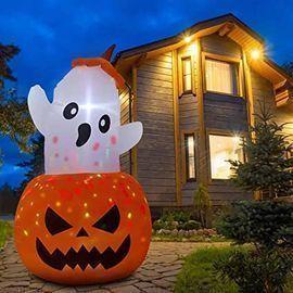 Parasaka 5' Inflatable Pumpkin Ghost