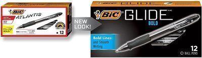 BIC Velocity Bold Retractable Ball Pen 12-Ct.