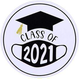 Class of 2021 Graduation Envelope Stickers