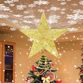 Christmas Tree Topper Lighted Star