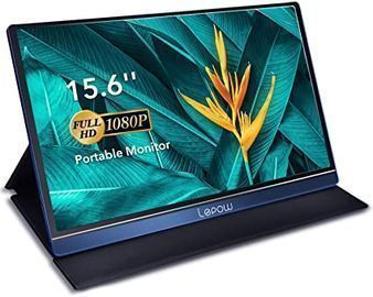 16 Lepow 1080p Portable Monitor