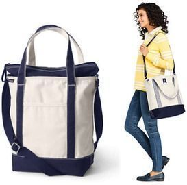 Check out these discounts on totes from Land's End