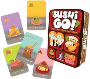 Sushi Go! - The Pick and Pass Card Game