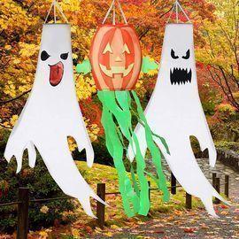 Halloween Windsocks - 3Pcs