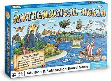 Mathemagical World - Addition & Subtraction Math Board Game