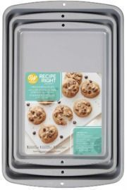 Wilton Recipe Right Nonstick Cookie Sheets, Set of 3