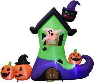 6 Foot Halloween Inflatables LED