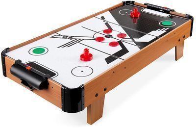 40 Tabletop Air Hockey Game Table W/ 2 Blower Fans, 2 Pucks, 2 Strikers