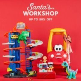 Check out Zulily for Santa's Workshop - up to 50% off!