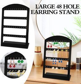 48 Holes Earrings Organizer/Display Stand