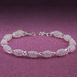 Hollow Chain Bracelet Wrist Clasp Bangle Jewelry
